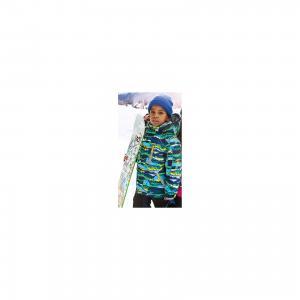 Комплект: куртка и полукомбинезон для мальчика atPlay!. Цвет: зеленый