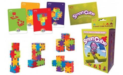Смарт куб 6 пазлов и 15 карточек Happy Cube