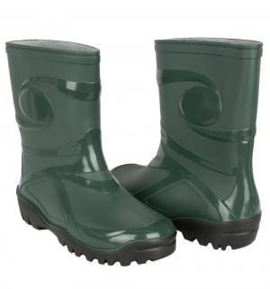 Резиновые сапоги , цвет: зеленый Demar