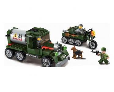 Военная база Combat Zone (223 детали) Enlighten Brick