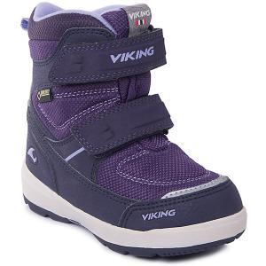 Ботинки Skavl II GTX Viking для девочки. Цвет: лиловый