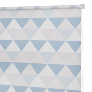 Рулонная штора Принт Треугольники 160х175 см Decofest