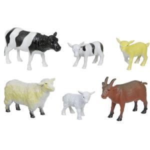 Набор животных  Ребятам о зверятах. Домашние животные с детенышами Bondibon