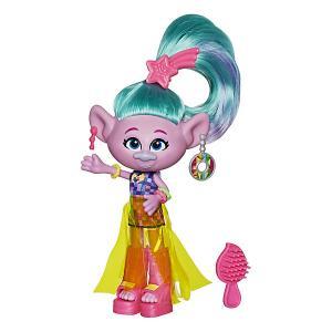Кукла Trolls World Tour Делюкс Сатинка Hasbro. Цвет: разноцветный