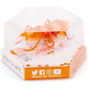Микроробот HexBug Муравей. Цвет: оранжевый