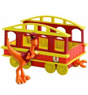 Игровой набор  Кондуктор с вагончиком Поезд Динозавров