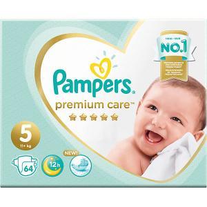 Подгузники  Premium Care 11-16 кг, 64 шт Pampers