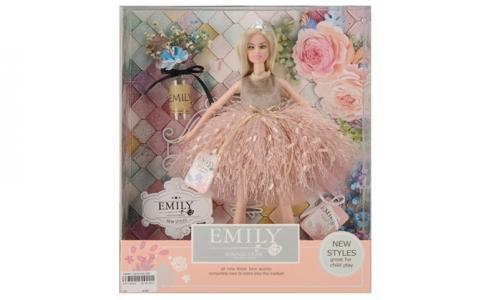 Кукла в бальном платье с аксессуарами JB0700858 Emily