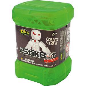 Игрушка  Stikbot Монстр в капсуле Zing