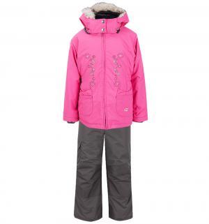Комплект куртка/полукомбинезон , цвет: розовый Gusti Boutique