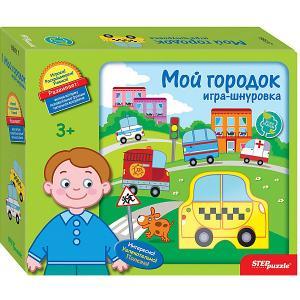 Развивающая игра-шнуровка Step Puzzle Мой городок Степ Пазл