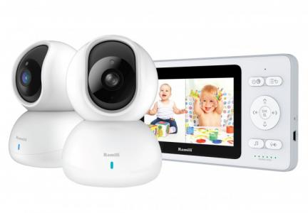 Видеоняня с двумя камерами Baby RV500X2 Ramili