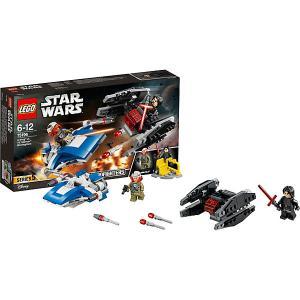 Star Wars 75196: Истребитель типа A против бесшумного истребителя СИД LEGO