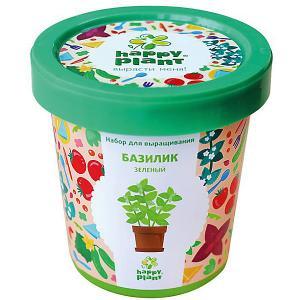 Набор для выращивания Базилик зеленый Happy Plant