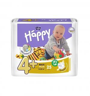 Подгузники  Maxi Plus 4+ (9-20 кг) 25 шт. Bella Baby Happy