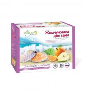 Набор  Жемчуженки для ванн своими руками Фруктовое конфетти Аромафабрика