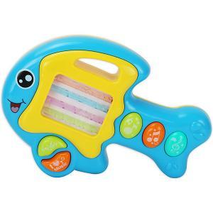 Музыкальная игрушка  Рыбка Жирафики. Цвет: разноцветный