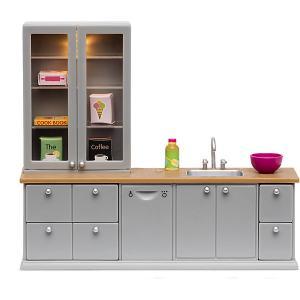 Набор мебели для домика  Кухня Lundby. Цвет: разноцветный