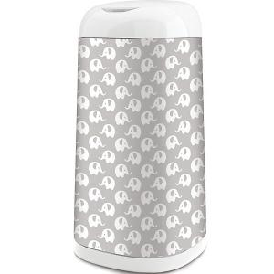 Чехол для накопителя подгузников AngelCare Dress Up, серый. Цвет: серый