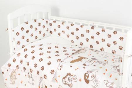 Комплект в кроватку  Фантазия Лапки (6 предметов) Топотушки