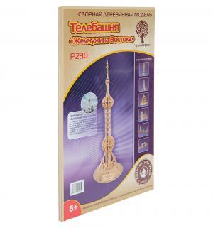 Сборная деревянная модель  Телебашня Жемчужина Востока Wooden Toys