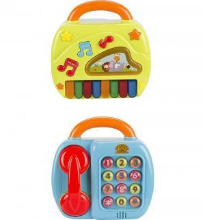 Игровой центр  2 в 1 (пианино и телефон) 23 см S+S Toys