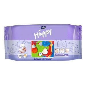 Салфетки  «Baby Happy Classic» влажные с витамином Е и аллантоином, 64 шт Bella