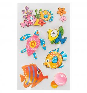 Наклейки для творчества  Забавные Рыбки Fancy Creative