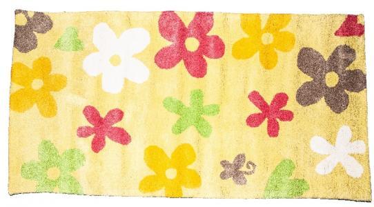 Ковер  в цветочек, размер 70х140 см Sai Carpets