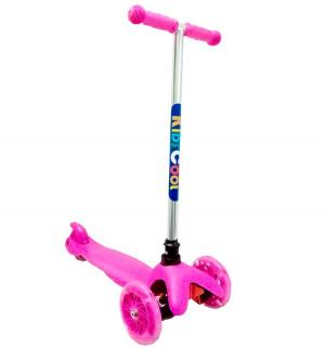 Самокат  MS06, цвет: розовый Kids Cool