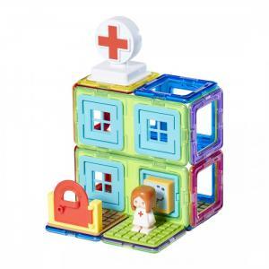 Конструктор  магнитный Town Set - Hospital (22 элемента) Magformers