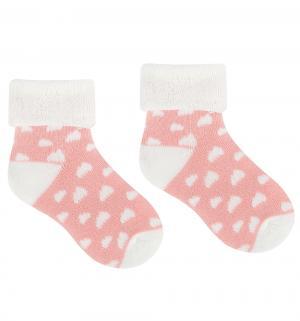 Носки, цвет: розовый Happy baby days