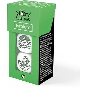 Настольная игра Rorys Story Cubes Кубики историй Открытия 3 кубика (доп. набор) Rory's
