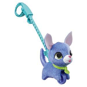 Мягкая игрушка FurReal Friends Маленький питомец на поводке Щенок Hasbro. Цвет: разноцветный