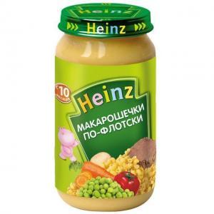 Пюре  макароны по флотски с 10 месяцев, 190 г Heinz