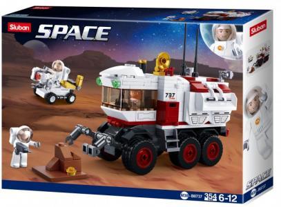 Конструктор  Космический марсоход (354 детали) Sluban