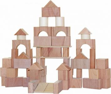 Деревянная игрушка  Строим сами неокрашенный Краснокамская