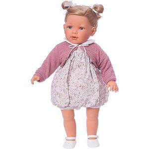 Кукла  Аделина блондинка, 55 см Munecas Antonio Juan. Цвет: розовый