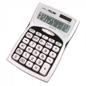 Калькулятор настольный полноразмерный 12 разрядов 1152012BL Milan