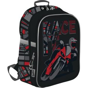 Рюкзак  школьный с замком Мотоцикл Seventeen