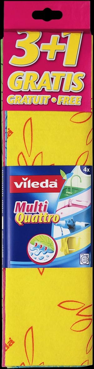 Салфетка для уборки  Универсальные Мульти Кватро Vileda