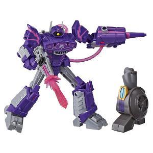 Трансформеры Transformers Кибервселенная Делюкс Шоквейв, 12 см Hasbro. Цвет: разноцветный