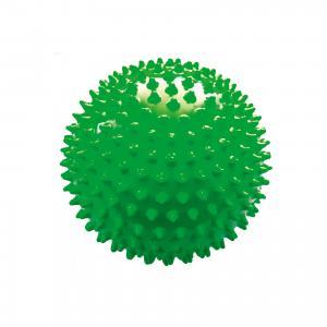 Мяч ёжик зеленый, 18 см, МалышОК