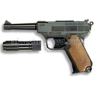 Игрушечный Пистолет с глушителем Lionmatic 26,5 см Edison