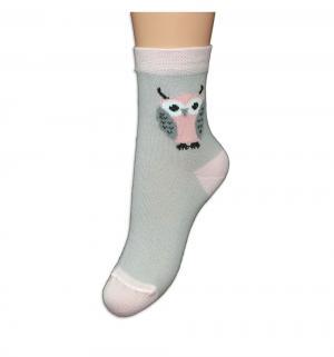 Носки, цвет: серый/розовый Perfezione