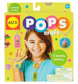 Набор для творчества  Pops craft Украшения любимые сладости Alex