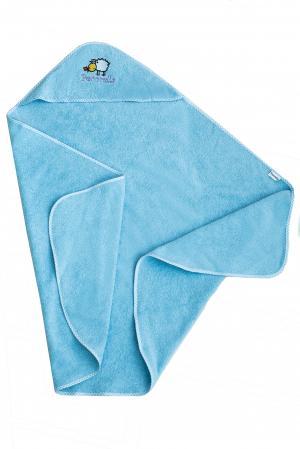 Полотенце , цвет: голубой Pecorella