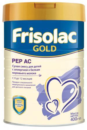Молочная смесь  Фрисолак Gold Pep AC 0-12 месяцев, 400 г Friso