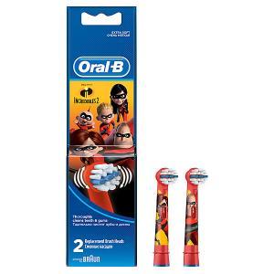 Сменные насадки для электрических щеток  Stages Power Incredibles, 2шт. Oral-B