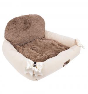 Лежанка для кошек  Валенсия, цвет: бежевый, 55*50*25см Зоогурман